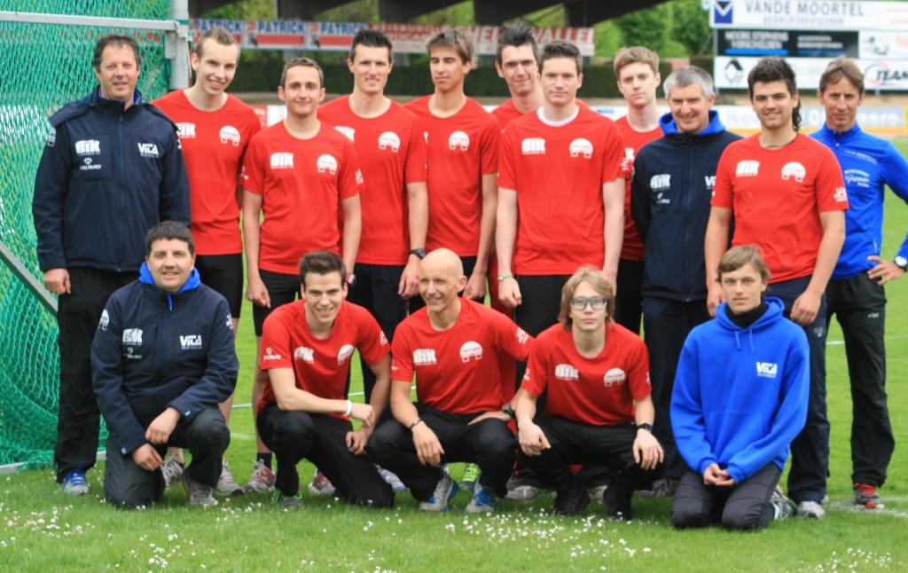 Het inter-clubteam Bvv mannen AC