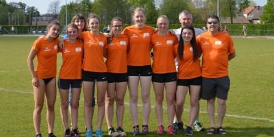 Interclub cadetten en scholieren meisjes 2016